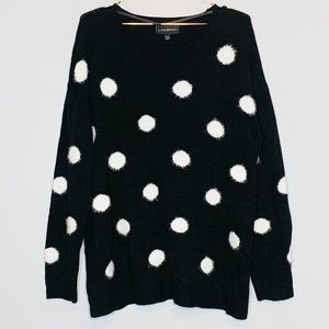 Lane Bryant | Sweater Polka Dot Long Sleeve